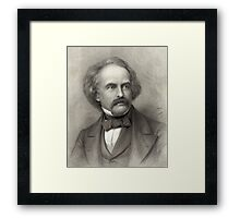 Portrait of Nathaniel Hawthorne Framed Print