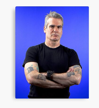 henry rollins tour date time 2016 nh3 Canvas Print