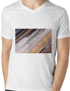 Rocking Stripes Mens V-Neck T-Shirt