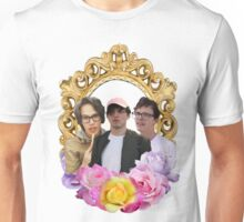 Cancer Crew Flower Frame Unisex T-Shirt