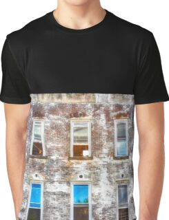 Cool Building Facade Graphic T-Shirt