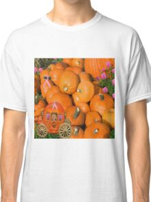 PUMPKINS AND CARRIAGE CANCER AWARENESS PILLOW AND OR TOTE BAG Classic T-Shirt