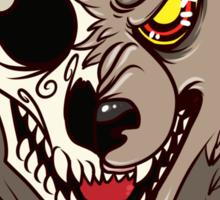 BEWARE! Werewolf Sticker