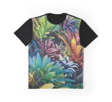 Bromeliad Oasis 2 Graphic T-Shirt