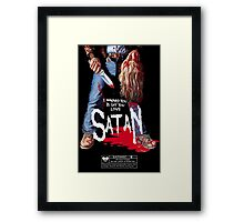 Say You Love Satan 80s Horror Podcast - Maniac Framed Print