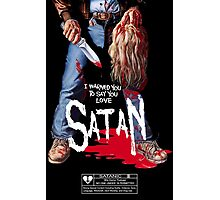 Say You Love Satan 80s Horror Podcast - Maniac Photographic Print
