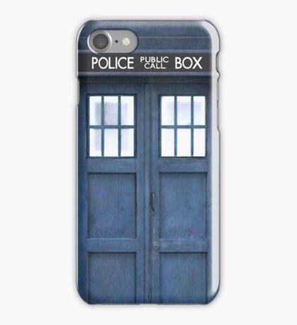 TARDIS Door iPhone Case/Skin