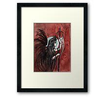Inktober - Devil Framed Print