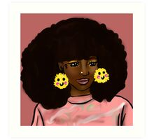 Touch the Fro Art Print