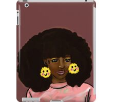 Touch the Fro iPad Case/Skin