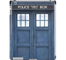 TARDIS Door iPad Case/Skin