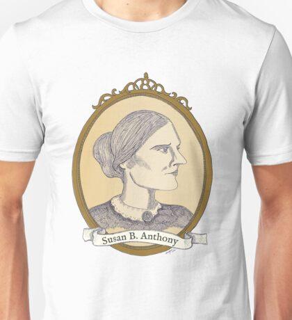 Susan B. Anthony - Antique Portrait Unisex T-Shirt