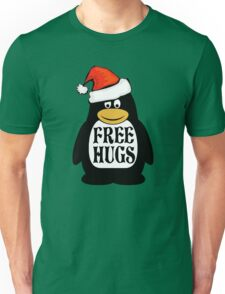 Hugs the Christmas Penguin Unisex T-Shirt