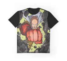 Saitama Super Punch Graphic T-Shirt