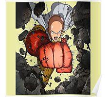 Saitama Super Punch Poster