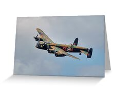 Battle of Britain Memorial Flight Lancaster Greeting Card