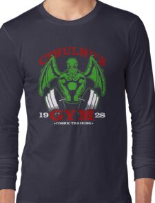 Cthulhu Gym Long Sleeve T-Shirt
