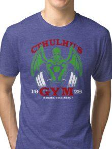 Cthulhu Gym Tri-blend T-Shirt