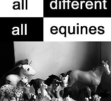 All different, all equines by phaona