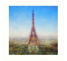 Average Eiffel Tower Art Print