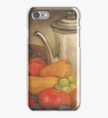 Jug and fruits iPhone Case/Skin