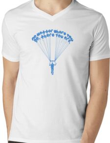 There You Are Mens V-Neck T-Shirt