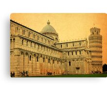 Leaning Tower of Pisa-Tuscany Canvas Print