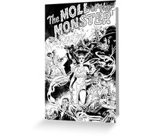 MOLL OF THE MONSTER Greeting Card