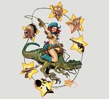 ROXY WEST; QUEEN OF DINOSAUR ISLAND Unisex T-Shirt