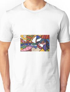 Laying By the Beach Unisex T-Shirt