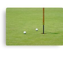 Golf Pin Canvas Print