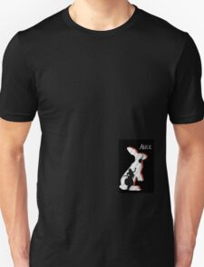 Alice and The White Rabbit. T-Shirt