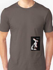 Alice and The White Rabbit. Unisex T-Shirt