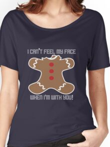 Can't Feel My Face - Christmas Women's Relaxed Fit T-Shirt