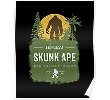 Florida's Skunk Ape Poster
