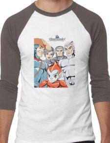 Silver Hawks 80s Cartoons Retro Men's Baseball ¾ T-Shirt