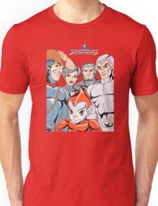 Silver Hawks 80s Cartoons Retro Unisex T-Shirt