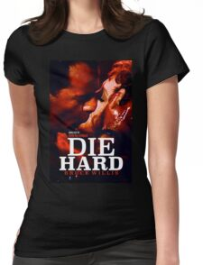 DIE HARD 24 Womens Fitted T-Shirt