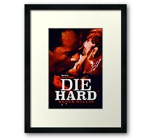 DIE HARD 24 Framed Print