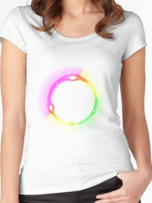 earth arts Women's Fitted Scoop T-Shirt