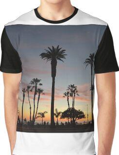 Santa Monica Sky Graphic T-Shirt
