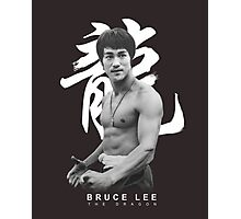 Bruce Lee Graphic T shirt The Dragon Photographic Print