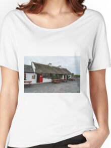 The Beach Bar, Aughris Head, Sligo, Ireland Women's Relaxed Fit T-Shirt