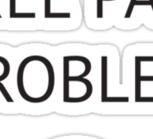 A Three Patch Problem Sticker