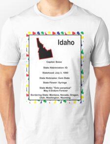 Idaho Information Educational Unisex T-Shirt
