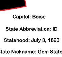 Idaho Information Educational Sticker