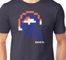 Denver Helmet - Tecmo Bowl Shirt Unisex T-Shirt