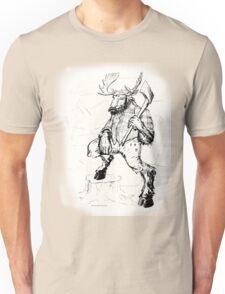 Lumber Moose Unisex T-Shirt
