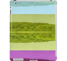 Lough Gill abstract iPad Case/Skin