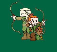 Little Legolas and Tauriel off on an Adventure T-Shirt
